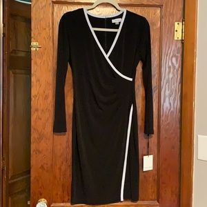 NWT Calvin Klein Wrap Style Dress